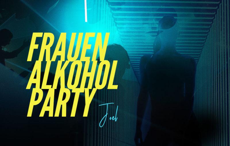 Neonlichter Personen Silouetten als Blogbild für Zeugnis Joel - Frauen Alkohol Party
