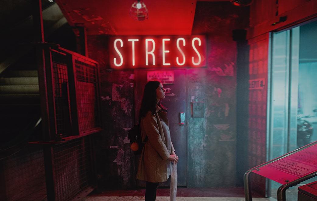 Stress scheint man nur schwer entrinnen zu können