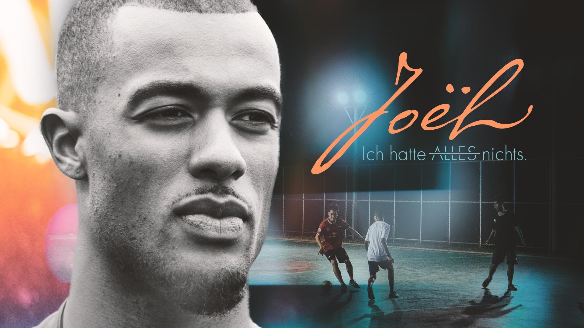 Joël Kiassumbua spielt Fußball und glaubt an Gott