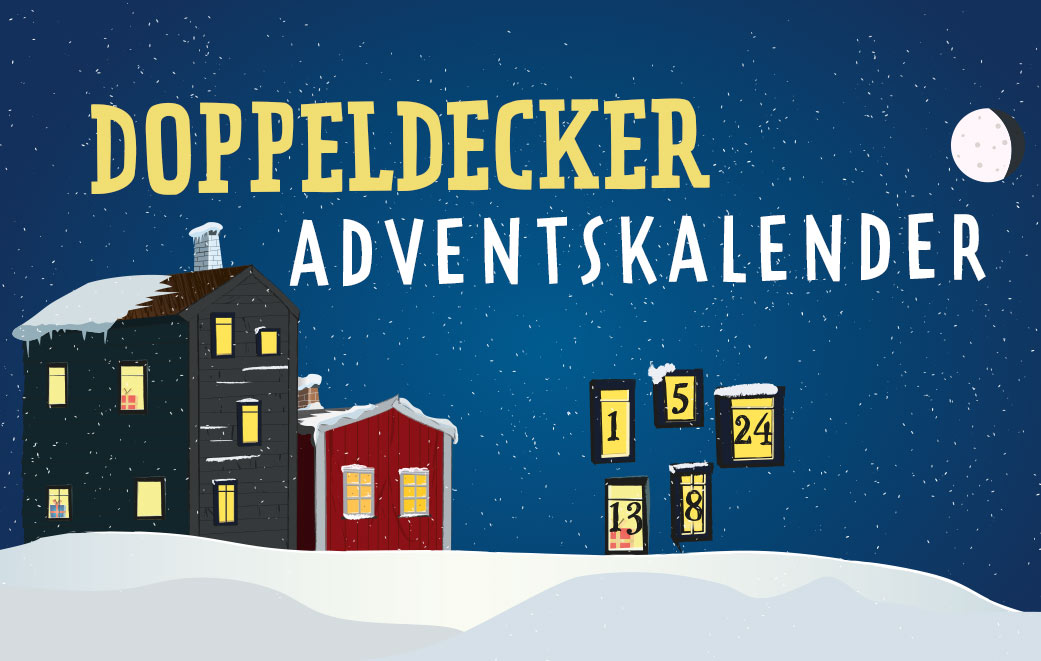 Doppeldecker Adventskalender
