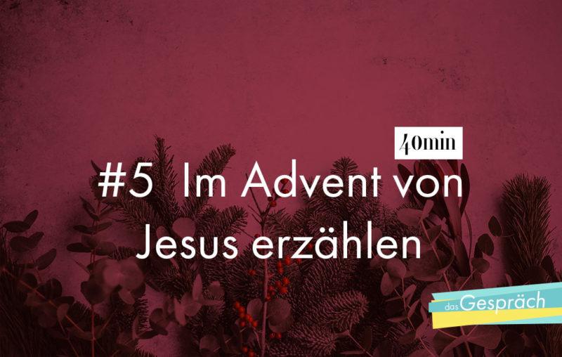 Tannenzapfen Tannenzweige als Titelbild für Das Gespräch Im Advent von Jesus erzählen