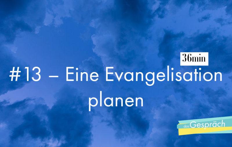 Evangelisation planen