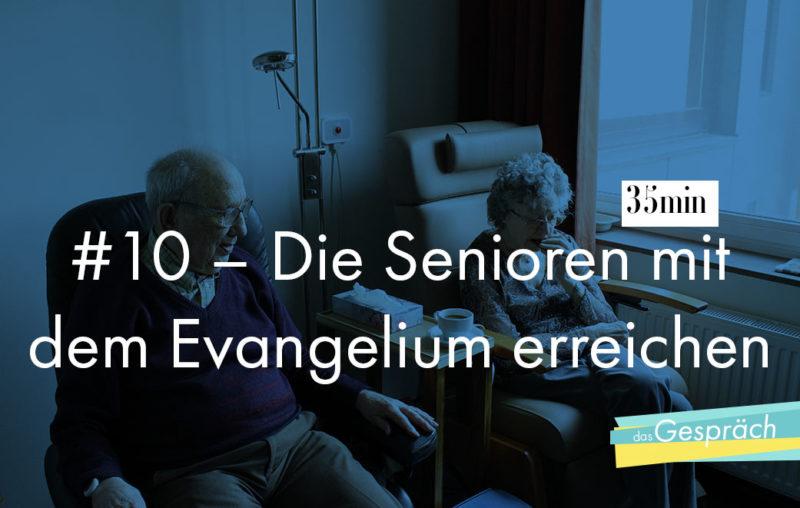 Zwei Senioren in Sesseln nebeneinander als Titelbild für das Gespräch Die Senioren mit dem Evangelium erreichen