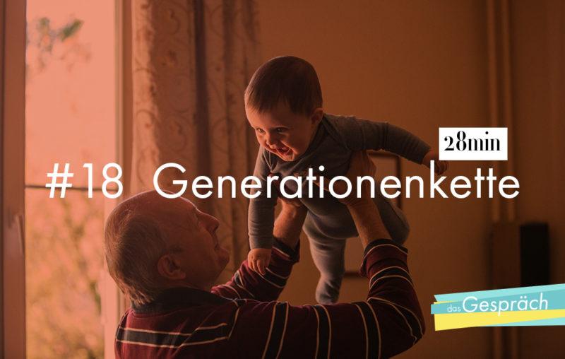 Großvater und Enkel - eine Generationenkette