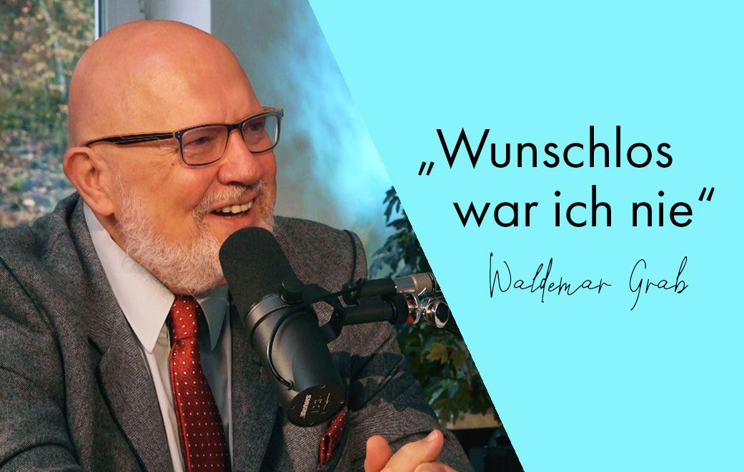 Waldemar Grab hat ein bewegtes Leben