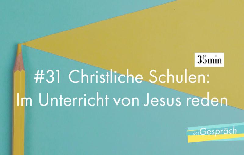 Buntstift als Titelbild für das Gespräch Christliche Schulen - Im Unterricht von Jesus reden