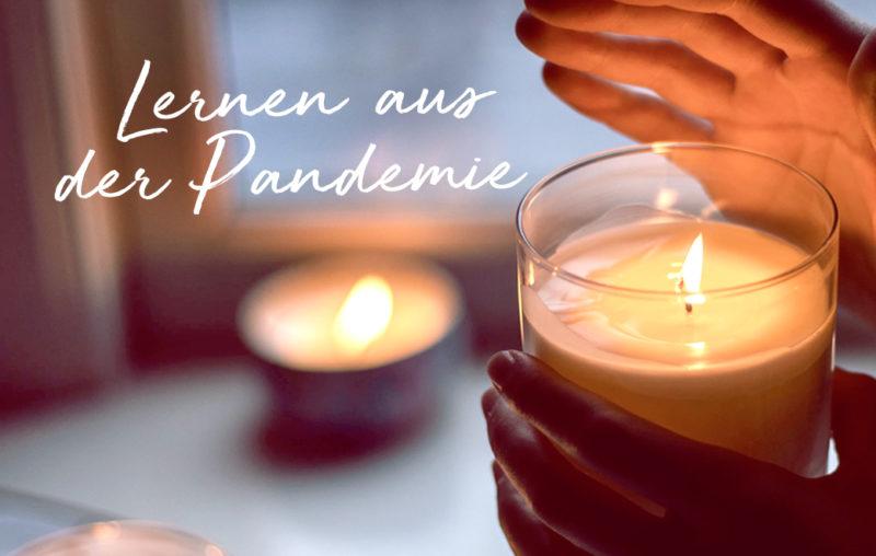 Lichter geben Trost in der Pandemie