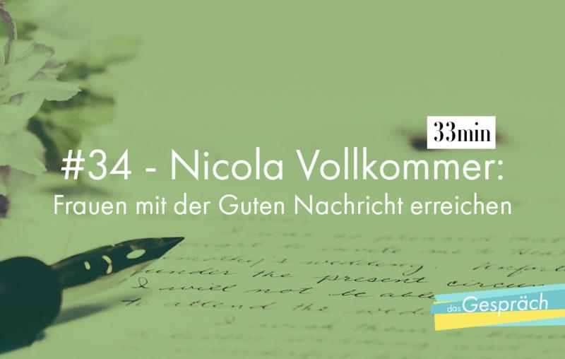 Nicola Vollkommer ist Referentin und Autorin