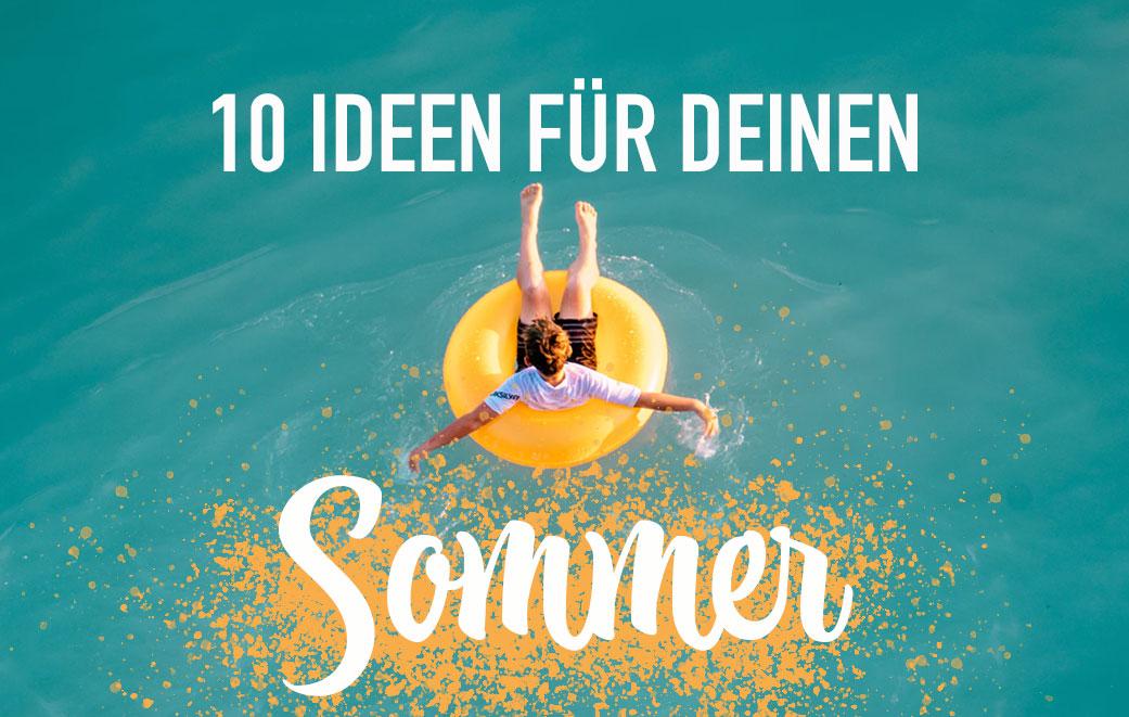 Bucket List für deinen Sommer