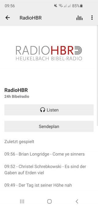 RadioHBR: Gottes Wort an jedem Tag 24 Stunden, 7 Tage die Woche. Predigten, Vorträge, Musik, Hörbücher…